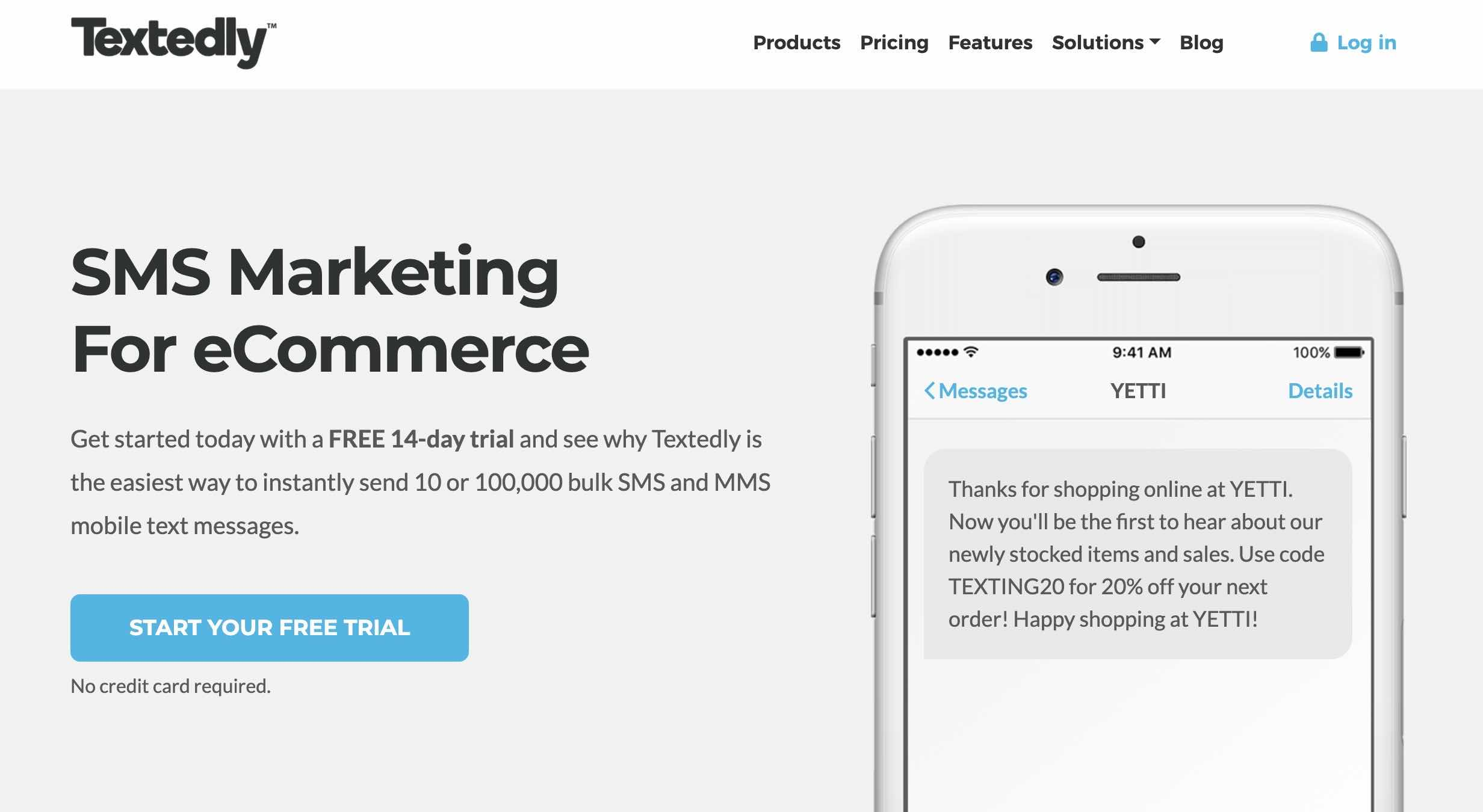 Textedly - SMS marketing for eCommerce
